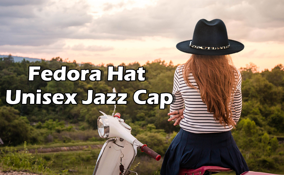 fedora hat unisex jazz hat