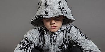 hoodie zipper zip sweatshirt boys girls tops top layer long sleeve