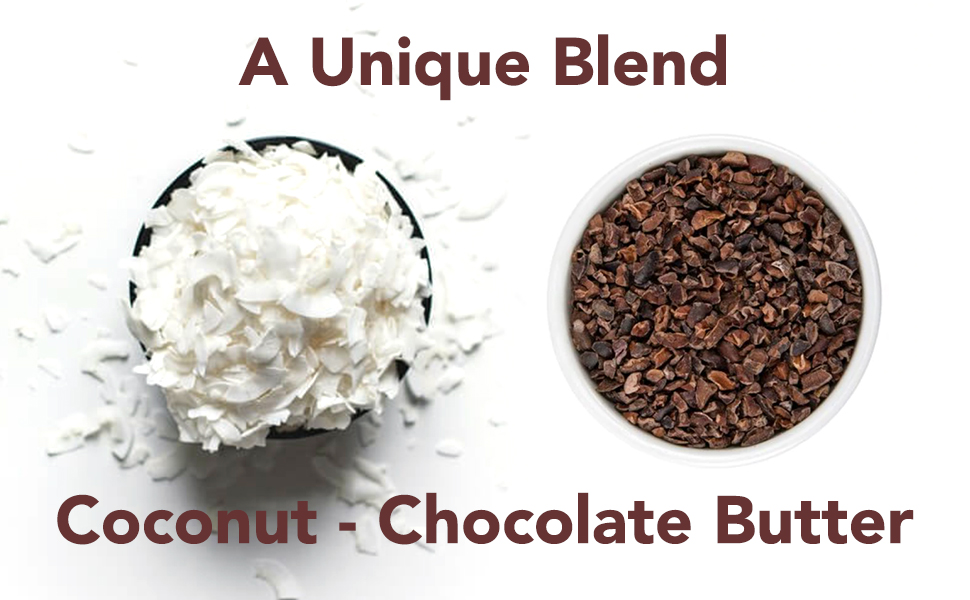 Chocolate Coconut Butter, Non-GMO, No Added Sugar, Vegan, 100% Superfood