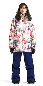 Straight Zip Jacket & Stretch Bib Pants