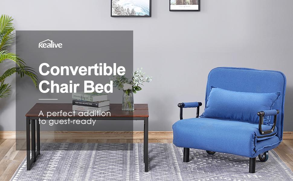single sleeper chair bed