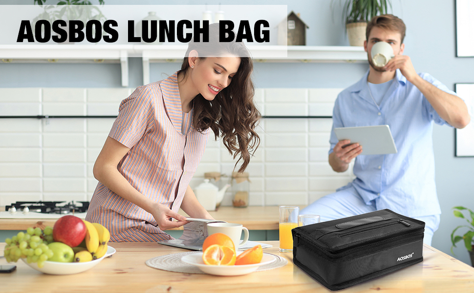 small insulated lunch sack