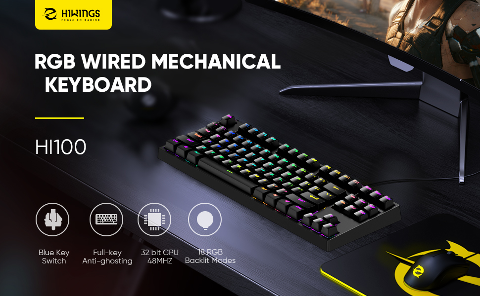 A keyboard with advanced performance and superior durability.
