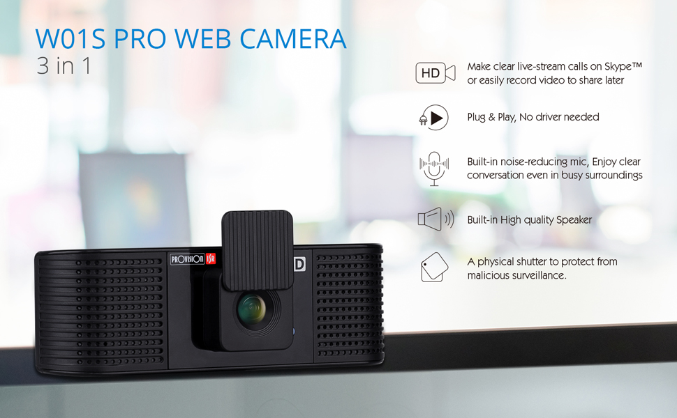 all in one web camera