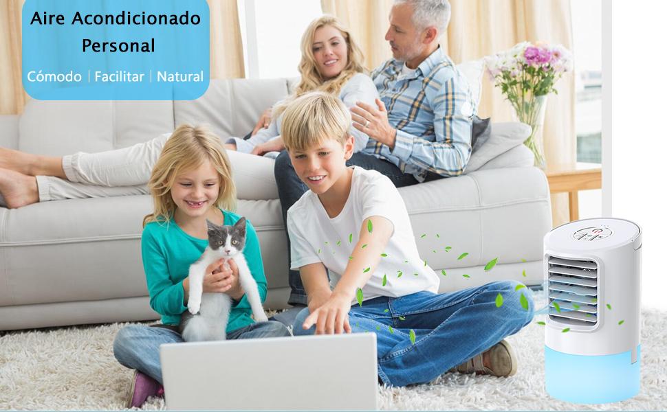 Nobebird Aire Acondicionado Portátil, Climatizador Evaporativo, 3 ...