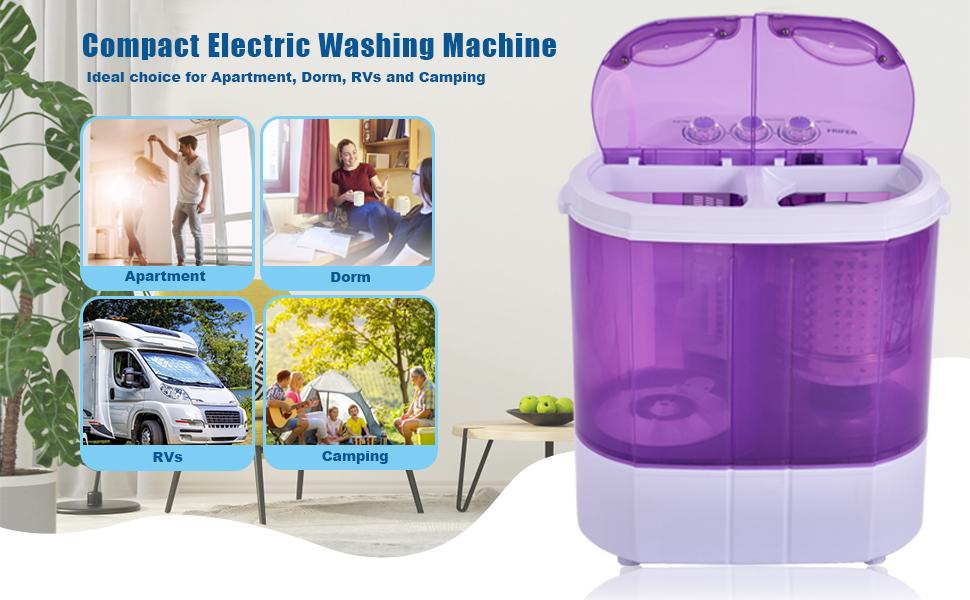 Compact Electric Washing Machine