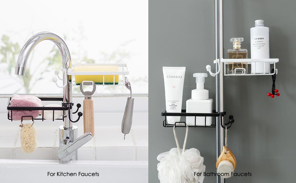 Sponge Holder hooks for Kitchen Sink