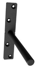 heavy duty floating shelf bracket