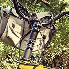 TRIWONDER MTB Elevador de Vástago de Bicicleta Aleación de ...