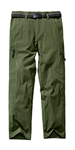 Kids'Cargo Pants, Youth Boys' Hiking Pants, Casual Outdoor Quick Dry Boy Scout Uniform Trial Pants