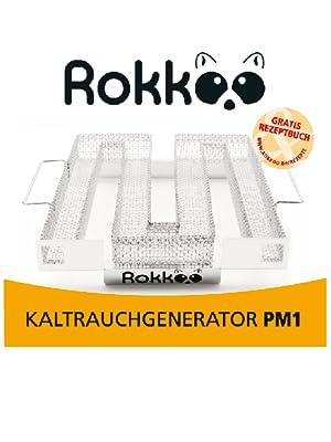 ROKKOO Kaltrauchgenerator, Räucherschnecke