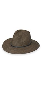 wallaroo hat company sun protection active adventure upf 50 mens sun hat chin strap