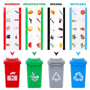 Gioco di smistamento dei rifiuti
