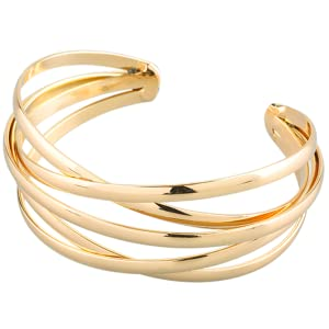 LuckyLy_ bangle cuff bracelets for women stainless steel jewelry gifts women fashion