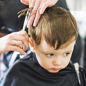 Hair cutting scissors 10
