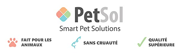 PetSol Smart Pet Solutions Cruelty Free Pet Care Chien Chat Cheval Furet Lapin