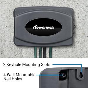 4 Wall Mountable Nail Holes