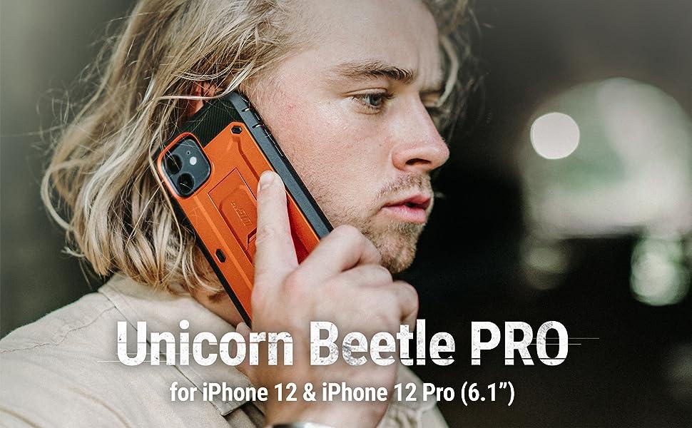 Supcase Unicorn Beetle Pro Rugged Case for iPhone 12 & iPhone 12 Pro 6.1 2020