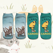 cat socks dog socks
