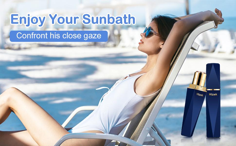 Enjoy your sunbath