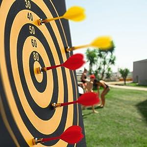 magnetic dart board for kids