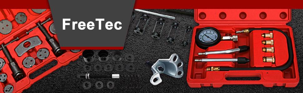 Opel Ford Fiat BMW FreeTec Juego de herramientas de prueba de diagn/óstico de presi/ón de aceite del cilindro del motor Compatible con VW
