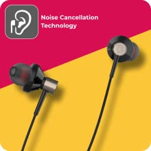 UBON UB-185 Champ 3.5mm in-Ear Earphone with Mic Clear Sound Audio & Dynamic Bass  SPN-FOR1