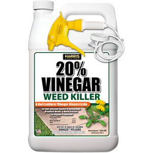 Harris Vinegar Weed Weed Grass Killer Organic Production Gallon Sprayer