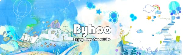 Byhoo - Enjoy More Fun of Life