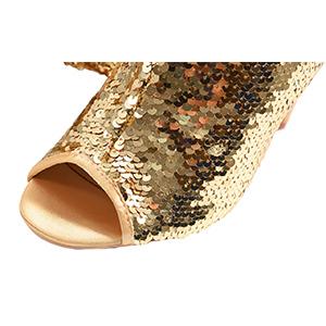 Fabric: Sequins /  peep toe