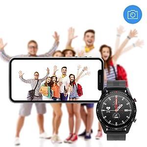 Camera Remote Control Smart Watch
