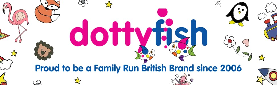 Dotty Fish Crib Shoes - Proud to be a family run British brand since 2006 - leather baby shoes