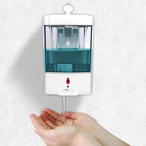 dispensador Gel hidroalcoholico Youool dispensador Gel hidroalcoholico automatico Pared 700 ml con Sensor IR dispensador de jab/ón autom/ático sin Contacto para Cocina Sin Perforaciones
