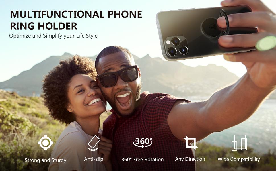Phone Ring Holder Finger Kickstand