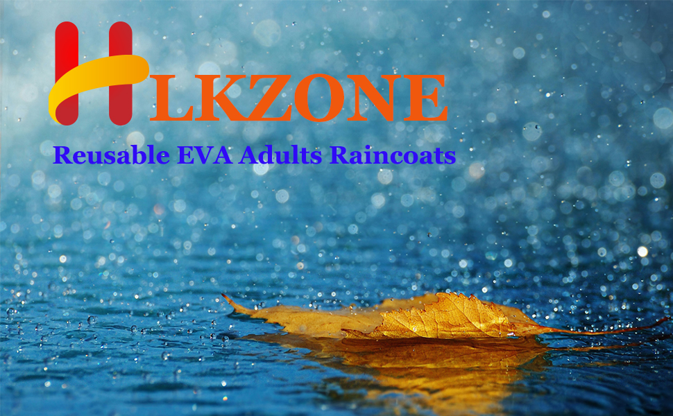 HLKZONE Adults Raincoats