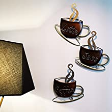 Coffee Cup Wall Sculpture