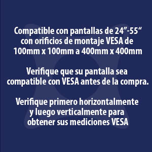 Invision HDTV-E VESA info