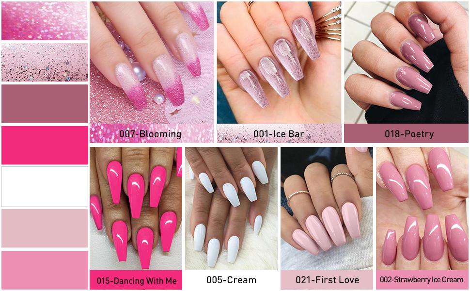 gel nail polishes