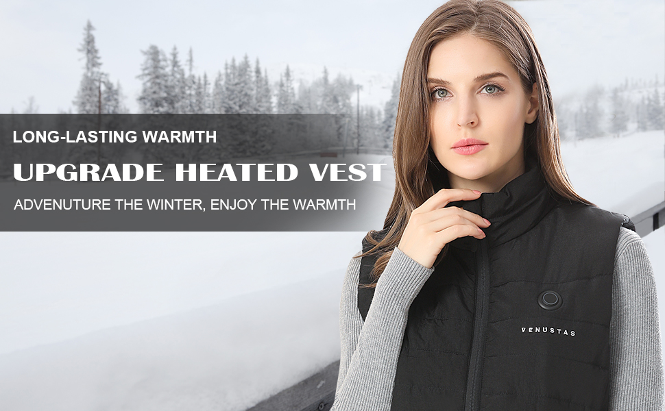 Heated vest for women with battery,Heated clothes for women,Women's heated vest, heated clothing