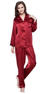 zijden pyjama voor vrouwen lilysilk pyjama set
