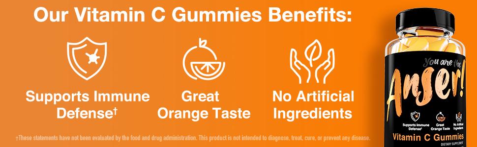 Anser Vitamin C Gummies