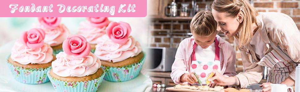 Ustensiles pour Décoration de Gâteau