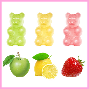 fruit gummies vegan favor womens regrowth hair skin and nails vitamins organic