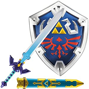 legend of zelda children kids link armor sword shield scabbard dress-up cosplay halloween role play