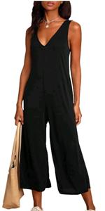 women sleeveless jumpsuit