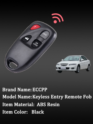 4 BUTTONS 315MHZ KPU41805 41805 4238A-12076 SMART KEYLESS ENTRY CAR FOB REMOTE KEY FOR MAZDA 6 2003 2004 2005 AUTO PARTS