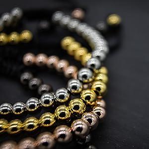 metal bead bracelets