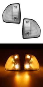 dodge ram side mirror led turn signal lights lamp