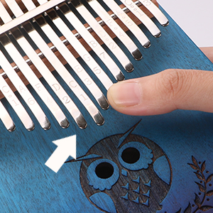 kalimba 17 key, musical instruments for adults