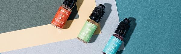 Breathe Organics Premium CBD Liquid Banner